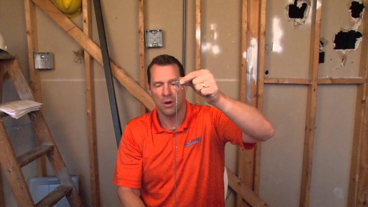 4 ft. 12 Gauge Ceiling Grid Tie Wire: PR-412 - YouTube