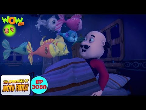 Machhliyon Ki Azadi - Motu Patlu in Hindi - 3D Animation Cartoon - As on Nickelodeon thumbnail