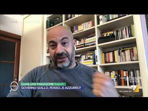 """Gianluigi Paragone vs Davide Faraone """"Berlusconi può dare un aiutino al governo in cambio di ..."""
