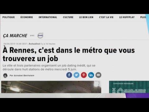 Rennes : trouver un emploi dans le métro