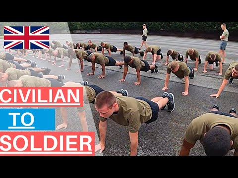 Civilian to Soldier | What happens in British Army Basic Training? | WEEK 1