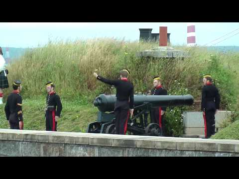 Halifax Citadel Cannon Firing at Noon