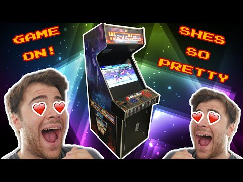 My Gaming Xmas Surprise Is Finally Here!! - Arcade Cabinet Overview