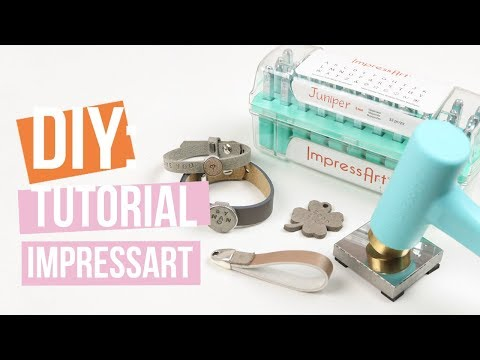 ImpressArt | Stempeln auf Designer Quality Leder Tutorial