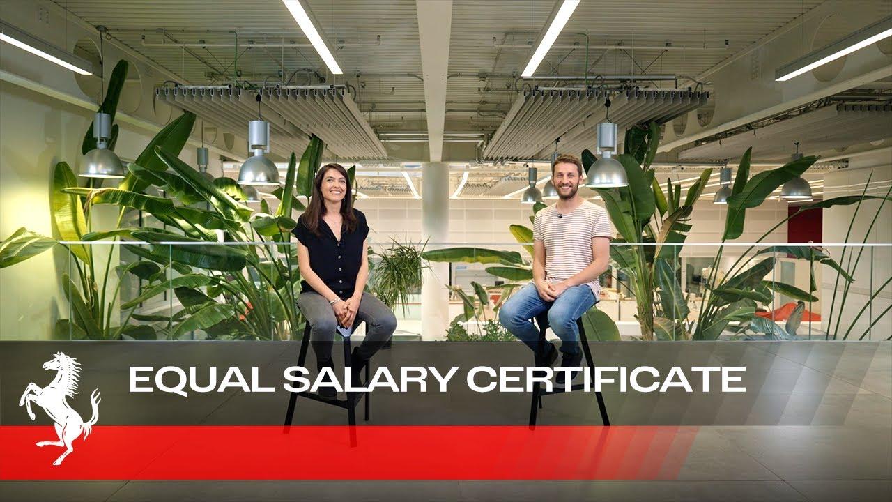 Cecilia and Paride - Ferrari Equal Salary Certificate
