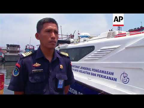 Indonesia fights illegal fishing with high-tech surveillance