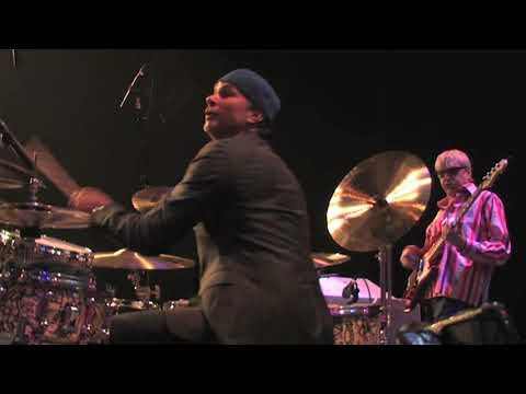 Chad Smith Backstage At Buddy Rich's Memorial Concert