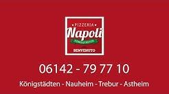 Pizzeria Napoli Lieferservice für Königstädten Nauheim Trebur Astheim