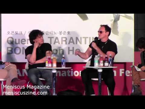 Quentin Tarantino & Bong Joon-ho Q&A - 2013 Busan International Film Festival - Meniscus Magazine