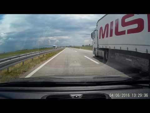 Driving through Serbia    - Subotica istok to Obrenovac    - 04 jun 2016. G1WH dashcam