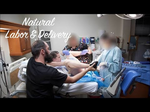 41 Week All Natural Peaceful Labor & Delivery Vlog!