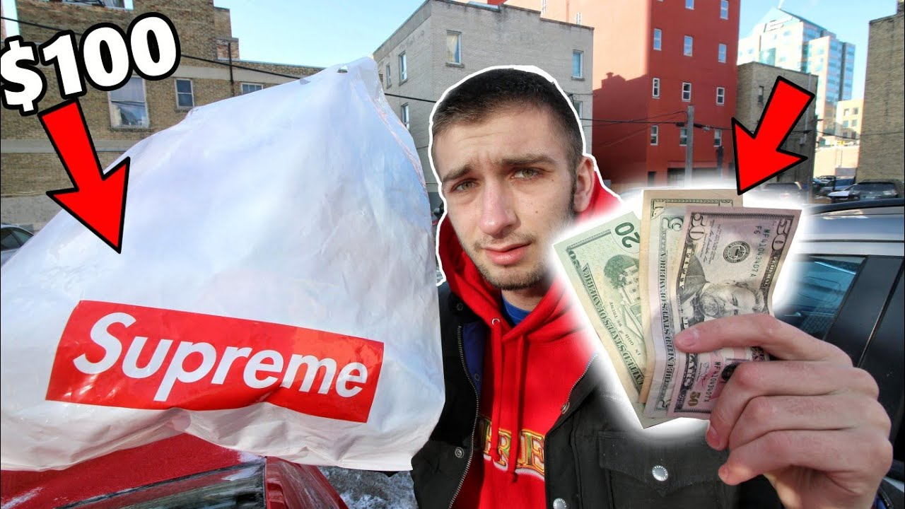 WHAT CAN $100 BUY YOU IN SUPREME! FRIENDS AND FAMILY DISCOUNT STEAL!