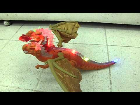 Sonidos 3 Cabezas DragonDinosaurio Luces Y Juguete LGSzVUpqM