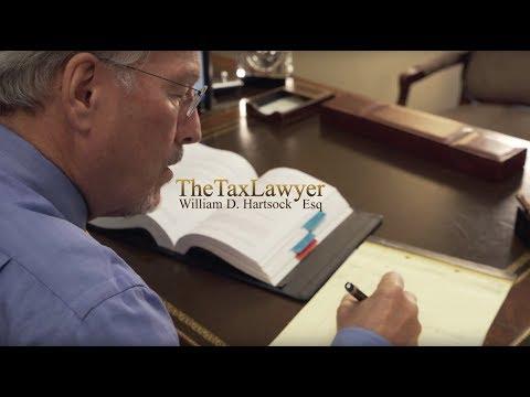 Tax Attorney, William D. Hartsock Esq.