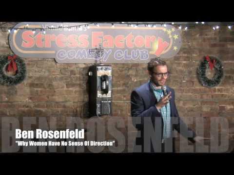 Why Women Have No Sense of Direction - Ben Rosenfeld