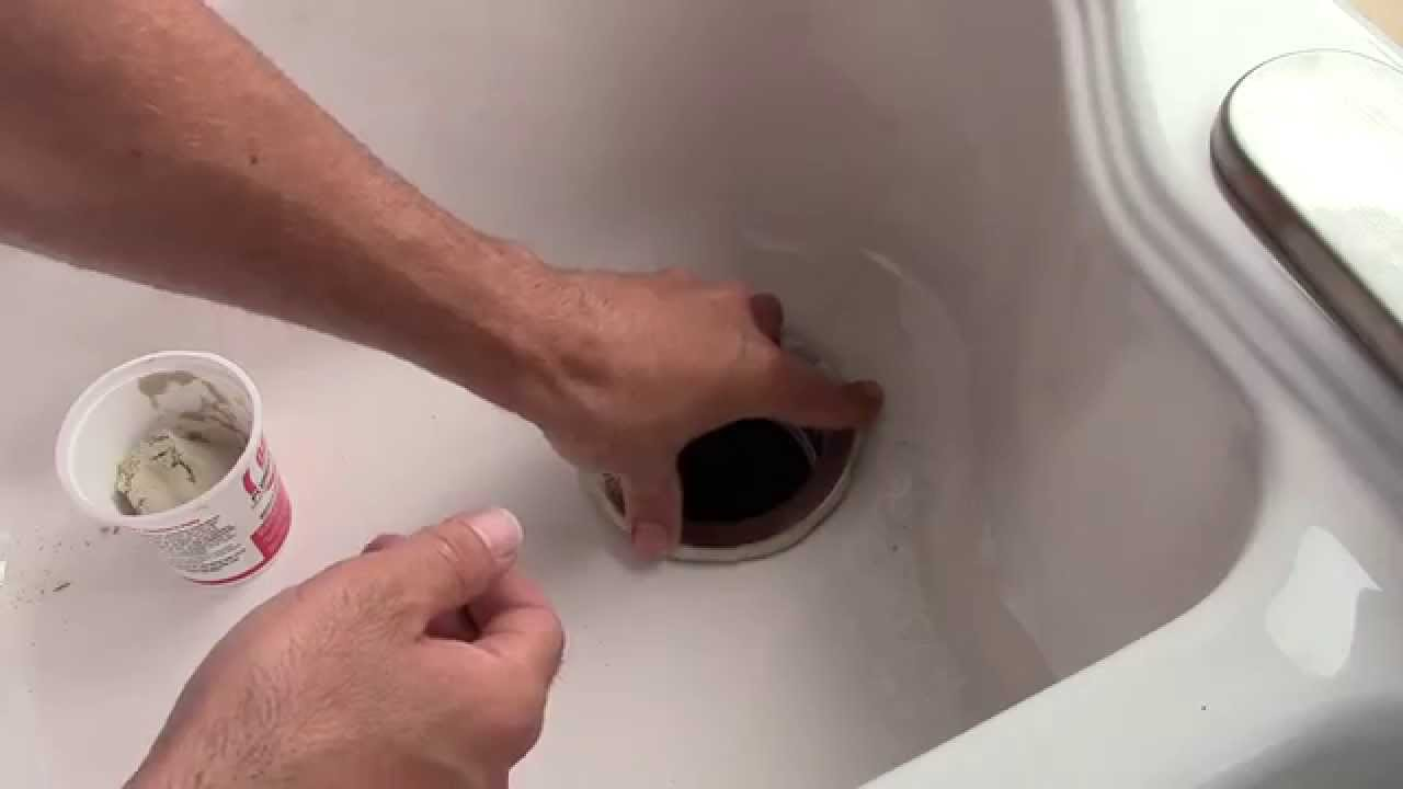 How To Install A Kitchen Sink Drain And Garbage Disposal Mount   Fixed Post    YouTube
