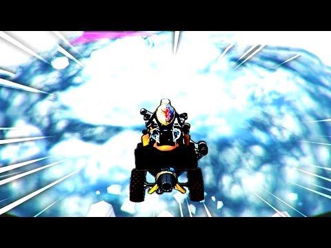 Flying To The ICEBERG CASTLE In Fortnite!