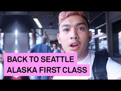 BACK TO SEATTLE ON ALASKA AIRLINES FIRST CLASS - ohitsROME