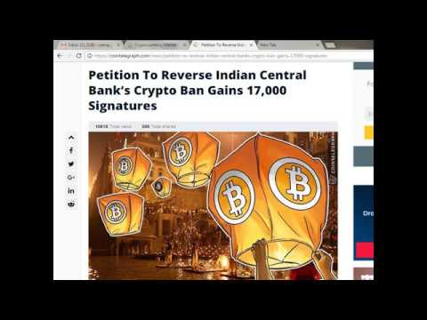 PETITION TO REVERSE RBI DECISION ON BITCOIN, TARGET 1 CRORE SIGNATURE, LIVE OF DIE UNITEDLY