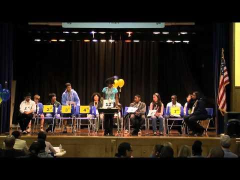 Spelling Bee Middle School Finals 2012