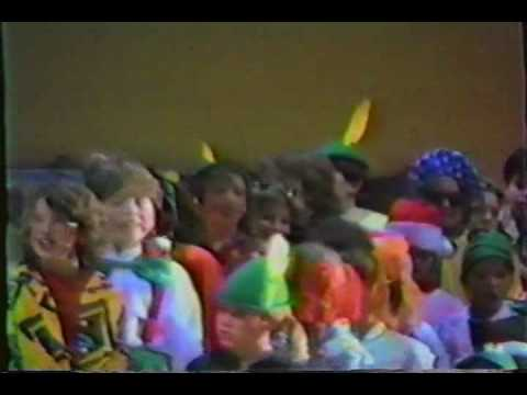 Clinton Valley Elementary School 1987 Christmas Play (Part6)