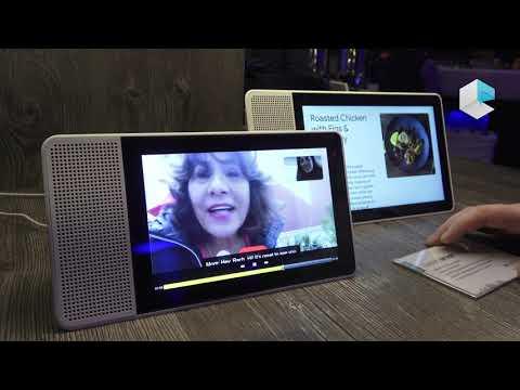 Lenovo Smart Display with Google Assistant and Qualcomm platform