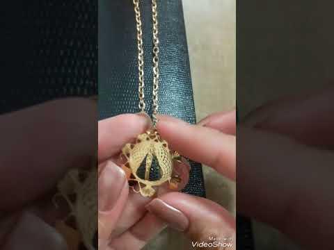 8051cc799fbc4 Pingente Redondo em Ouro 18K de Nossa Senhora Aparecida com Zircônia  NP910977