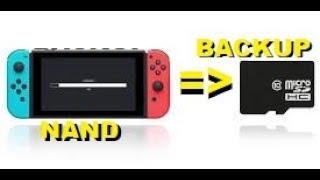 Backup da Nand em qualquer Versão da Nintendo Switch Independente do seu Desbloqueio Utilizado