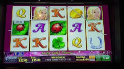 Lucky Lady's Charm - massive win with over 200 free games!