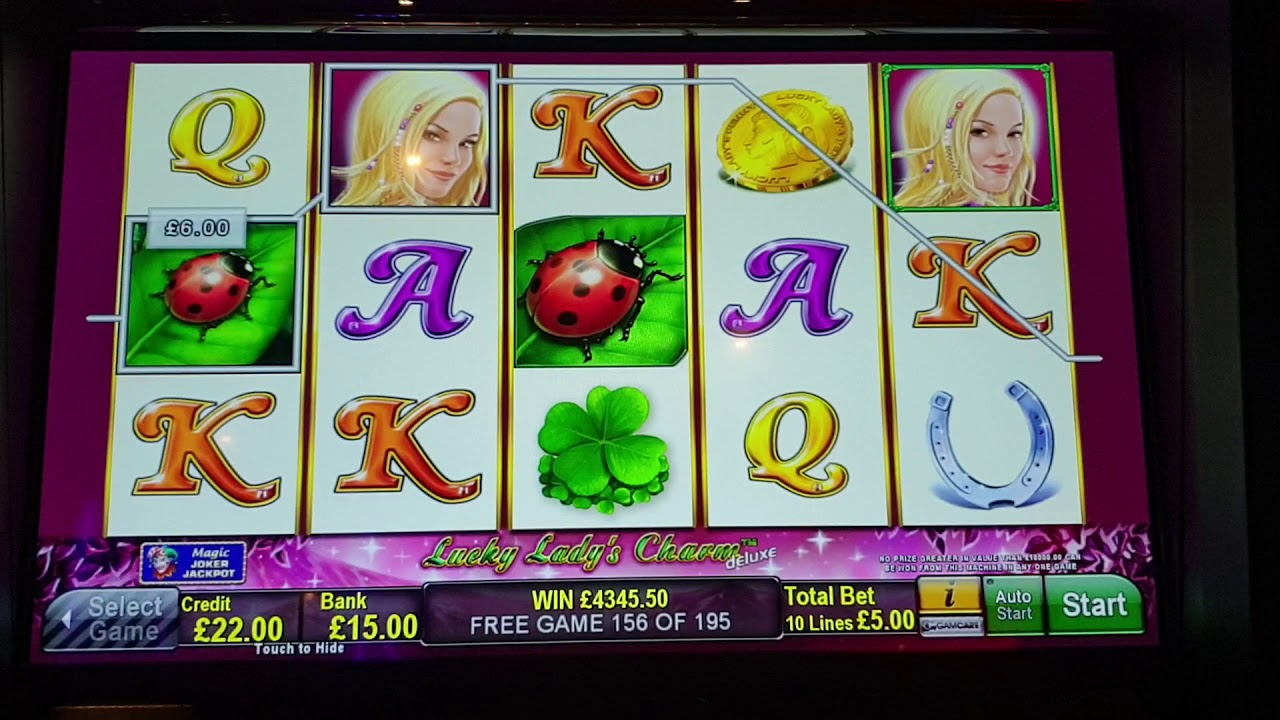 Lucky Lady Charm Free Game