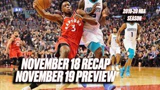 OG Anunoby Skewers Hornets    NBA Fantasy Basketball Recap