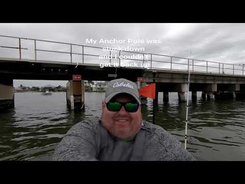 VLOG 061 The Real Life Feb 23 Kayak Fishing Bayou Vista