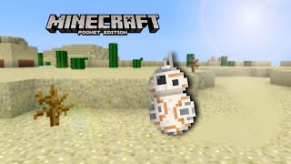BB-8 Droid nasıl-Minecraft Pocket Edition/Win10/Xbox