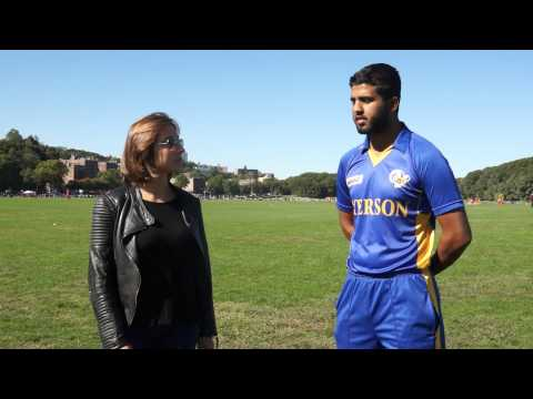 Ryerson University Toronto player Obaid interview with Victoria, American College cricket