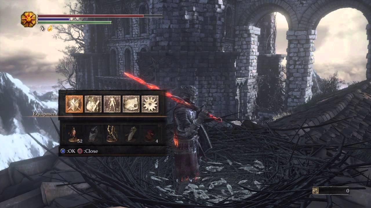 Dark souls how to get thank you carvings