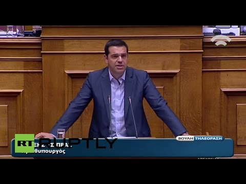 LIVE: Greek parliament discusses and votes on new bailout deal