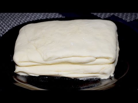 Puff Pastry Dough Recipe - Dough For Chicken Patties, Cream Roll, Bakarkhani At Home