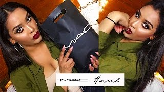 HUGEEE M.A.C Makeup Haul - 36 PRODUCTS!!| NikkisSecretx
