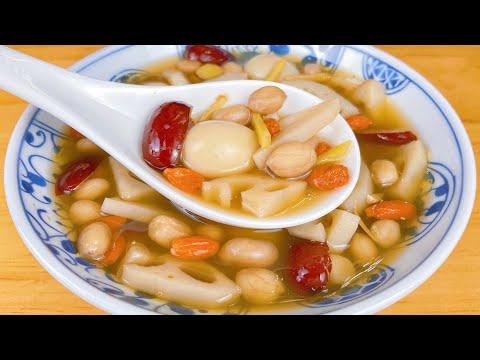 女人常喝這道湯,補氣補血助睡眠,臉色紅潤有光澤,不敷面膜也漂亮