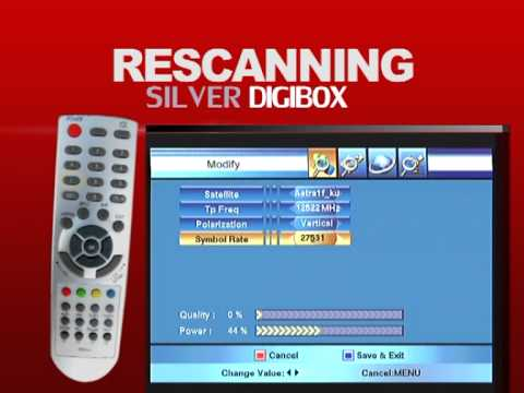 RESCAN (MULTI TV SILVER DIGIBOX)