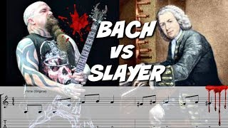 How Would Bach Play Slayer?