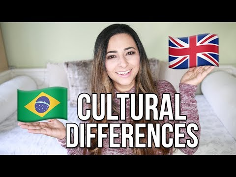 10 CULTURAL DIFFERENCES BETWEEN BRAZIL AND THE UK | Fun Facts About Brazil | Ysis Lorenna