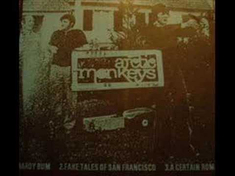 Arctic Monkeys  Fake Tales of San Francisco Demo