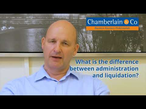 What is the difference between Administration & Liquidation?