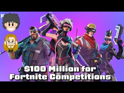 $100 Million For Fortnite Tournament Prize Pools - #CUPodcast