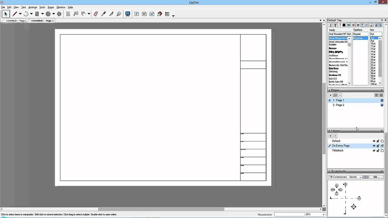 Sketchup To Layout 15 Saving The Template