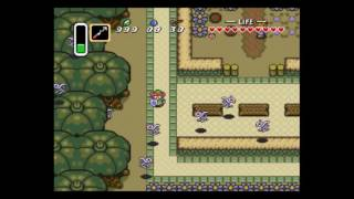 Zelda Link to the Past Zombie Chicken Abuse