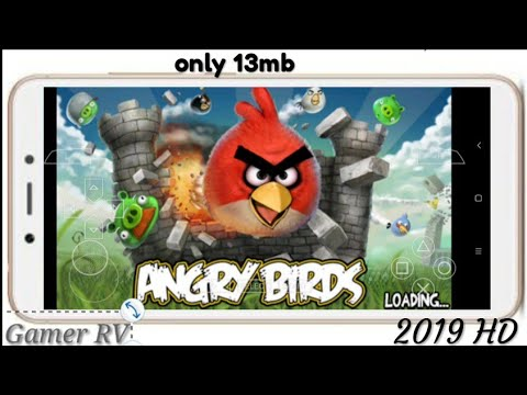 {13MB} HOW TO DOWNLOAD ANGRY BIRDS FOR ANDROID PPSSPP HIGHLY COMPRESSED || BY GAMER RV