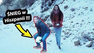 Śnig w Hiszpanii !!! - Gdzie Go Znaleźć? (Vlog #227)