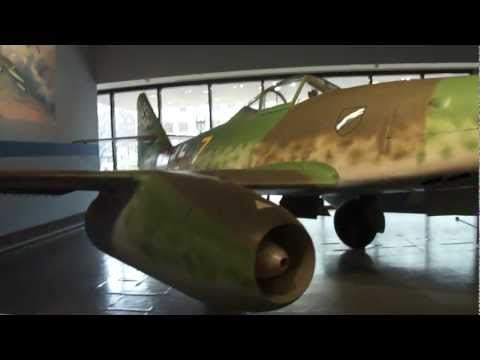 Messerschmitt Me-262 Walk Around The World's First Jet Aircraft